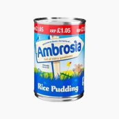 Ambrosia Rice Pudding 400g X 12